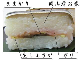岡山名物 ママカリ寿司