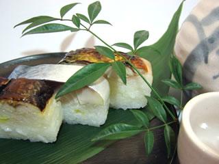『美園のお寿司は、お酒によく合います。』